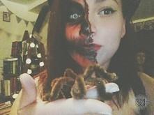Mój halloweenowy make up