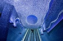 Stacja metra Toledo w Neapolu- stazione Toledo della metropolitana di Napoli.