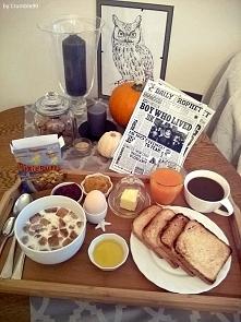 Halloweenowe śniadanie w st...