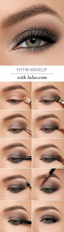 Piękny make up oka :) Przy ...