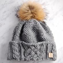 Ręcznie robiona czapka-Instytut Kłębka<3 Zamówienia: instytut.klebka@gmail...