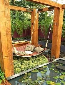 hamaczek na ogródku?