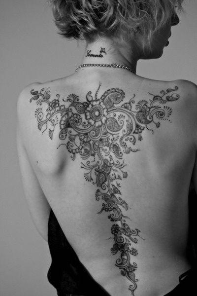 Ciekawe motywy na tatuaż na plecach. Odważysz się?