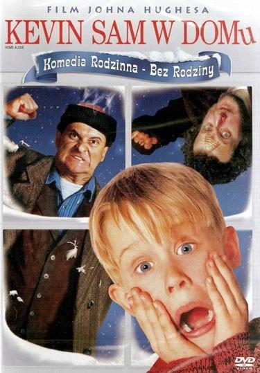 Kevin sam w domu(1990)  Rodzina McCallisterów zamierza spędzić Święta Bożego Narodzenia we Francji. W dzień wyjazdu omal nie spóźniają się na samolot. W wyniku małego zamieszania zapominają ze sobą zabrać Kevina (Macaulay Culkin). Ośmioletni chłopiec zostaje sam w domu, od tej pory musi sam sobie radzić ze wszystkim, w czym do tej pory wyręczali go rodzice... łącznie z dwoma złodziejami (Joe Pesci, Daniel Stern), którzy tylko czyhają, by okraść dom McCallisterów.