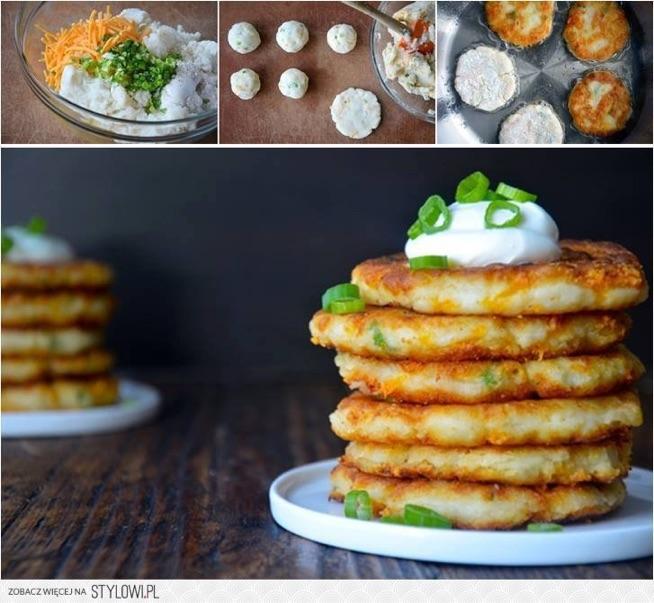 Zostały Ci ziemniaki z obiadu? Zrób z nich placuszki   1. Z ziemniaków zrób pueree. 2. Dodaj posiekany szczypiorek i startą marchewkę. 3. Przypraw solą i pieprzem i dokładnie wymieszaj. 4. Uformuj kuleczki i usmaż je na oleju.