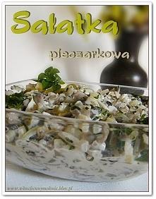 Sałatka Pieczarkowa Składni...