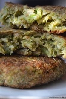 Kotlety z brokułów i brązowego ryżu. Lekkie i dietetyczne.