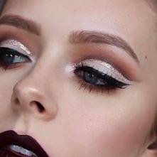 Galeria makijażu: Makijaż brokatowy