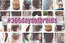 Mnóstwo fryzurowych inspiracji! Wyzwanie #365daysofbraids, codziennie nowa fr...