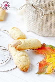 Ciasteczka paluchy wiedźmy - Wypieki Beaty