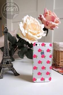 Etui Slim Roses - to piękne, delikatne i kobiece etui na ponad 500 modeli telefonów! :)