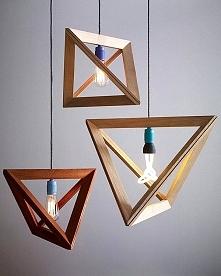 Geometryczna lampa-nowoczesne oświetlenie we wnętrzu <3
