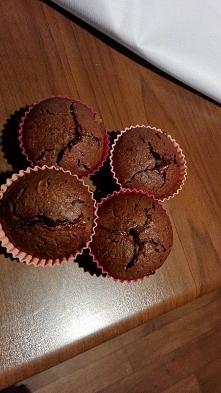 Pyszne muffiny piernikowe z jednego jajka ;) Banalnie proste do wykonania i p...