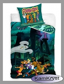 Kolejna propozycja pościeli z psem ScoobyDoo i jega kompanami - pościel w rozmiarze 160x200 cm 100% bawełna
