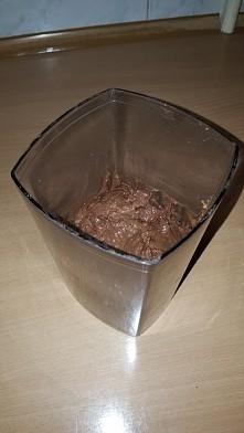 fit nutella  2 awokado  2 banany 2 łyżeczki kakao