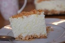 Pyszne ciasto bez pieczenia śnieżny puch .