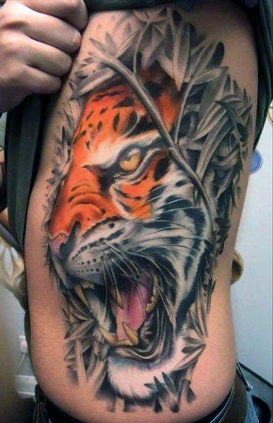 Tatuaże Zwierzęta Tygrys 3d Na Tatuaże Zszywkapl