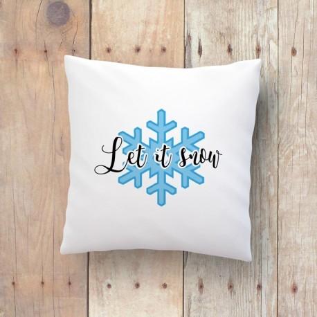 Kto ma dość jesieni i nie może doczekać się zimy oraz śniegu? Mamy dla coś dla Was! Poducha z zimowym nadrukiem dla lubiących białe widoki za oknem. Więcej na littlethings.pl