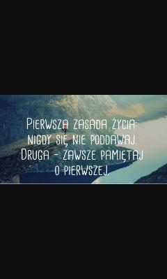 nigdy się nie poddawaj