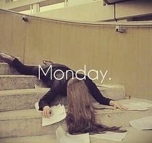 poniedziałki tak wyglądają