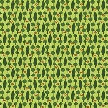 Bawełniana tkanina Lisy w L...