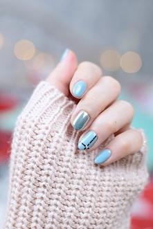 Jesienny manicure! W roli głównej Boyfriend Jeans Semilac :)