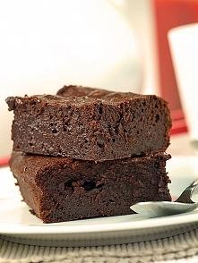 Bardzo czekoladowe ciasto z czekoladą
