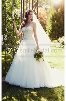 Essense of Australia Strapless Designer Wedding Dresses Style D1812