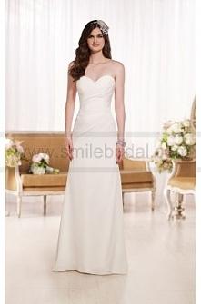 Essense of Australia Designer Strapless Wedding Dresses Style D1797