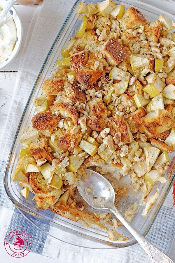Szarlotkowe tosty francuskie - Wypieki Beaty