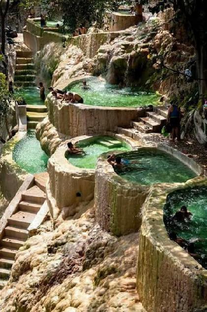 Tolantongo Caves, Meksyk - naturalne gorące źródła ❤