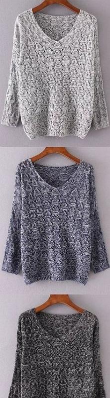 szare sweterki