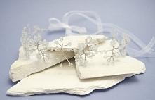 Wianuszek :) Biały ślub :)