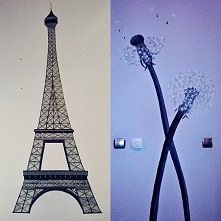 Namalowane na ścianie :)