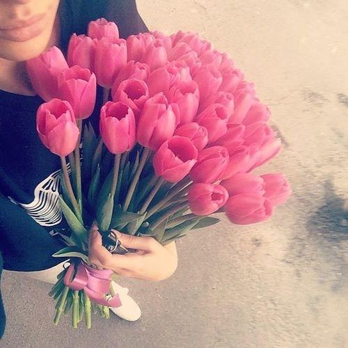 Bardzo lubię tulipany :)