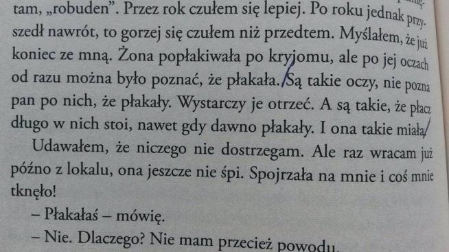 traktat o łuskaniu fasoli cytaty Wiesław Myśliwski