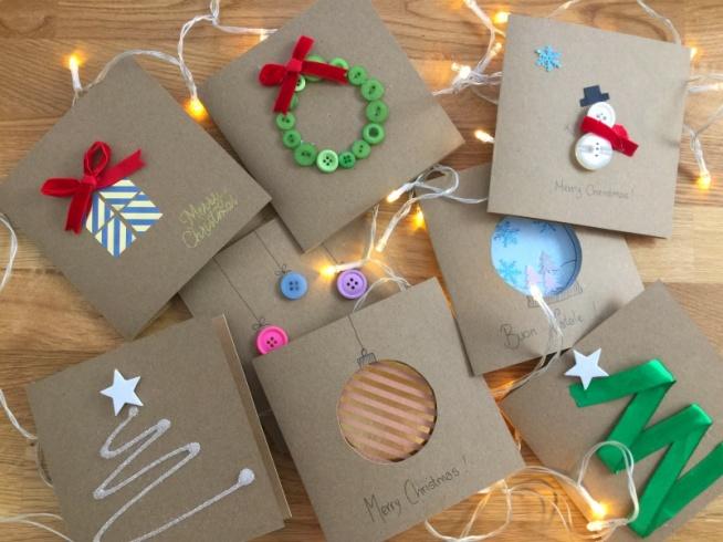 proste i urocze kartki świąteczne