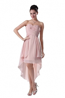 Angelia Bridal Strapless High Low Prom Party Bridesmaids Dress  Now go to Amazon to buy