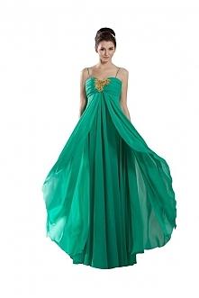 Angelia Bridal Women's Beaded Prom Party Dress With Spaghetti Straps  Now go to Amazon to buy