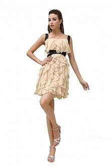 Angelia Bridal Women's Short Straps Chiffon Prom Party Dress  Now go to Amazon to buy