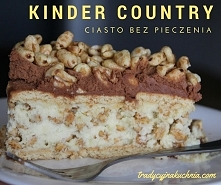 Kinder country ciasto bez p...