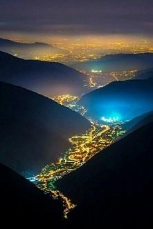 dolina światła ,Włochy