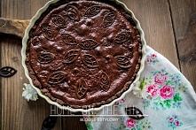 Przepis na czekoladową tart...