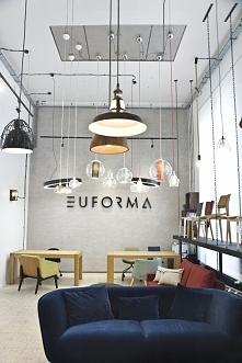 Wnętrze showroomu Euforma w Warszawie, projekt: meinDESIGN Paulina Kasprowicz