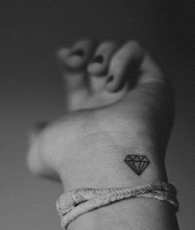 #Diamond #Tattoo