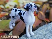 Dog niemiecki arlekin by Fiber fury