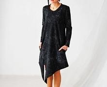 sukienka dzianinowa; rozmiary: S, M, L, XL, 2XL, 3XL, 4XL