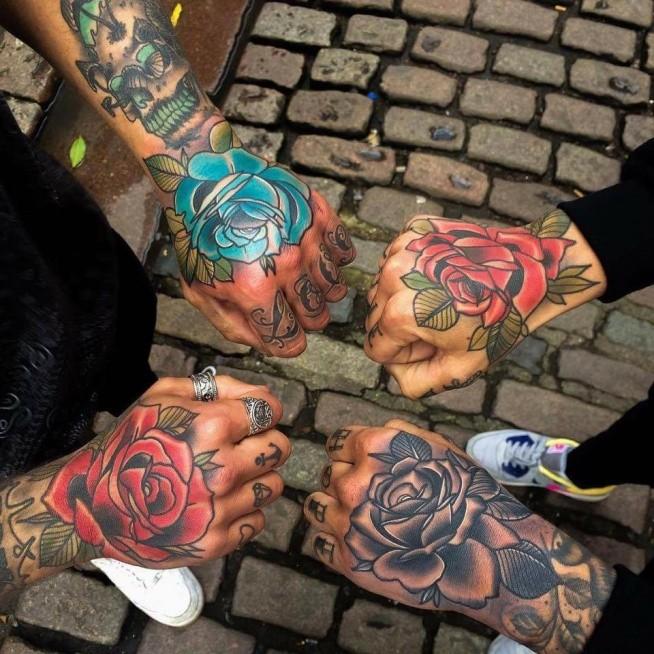 róże, róże, różyczki <3