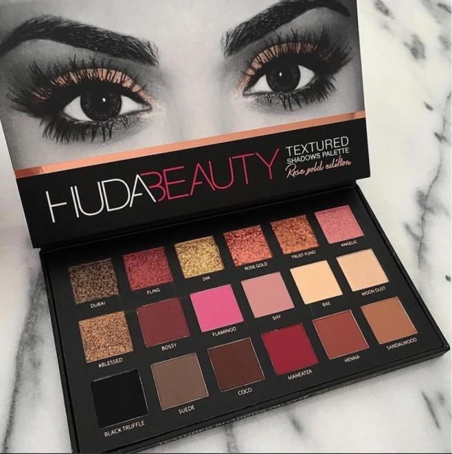 chceeee <3 Huda Beauty Rose Gold Palette