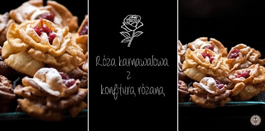 Karnawałowa róża